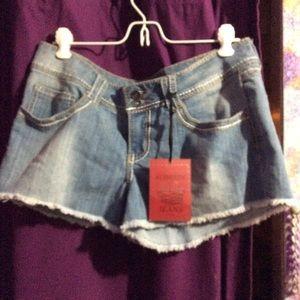 Nwt ladies jean shorts